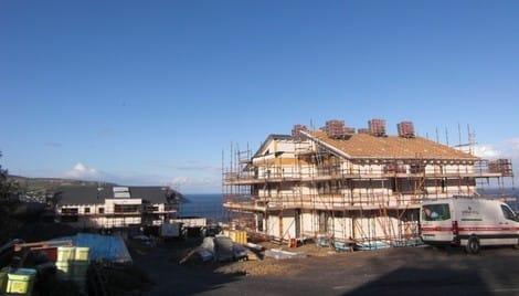 Musterhaus Isle of Man - Baldrine Außenansicht
