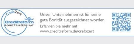 CrefoZert – Bonitätszertifikat