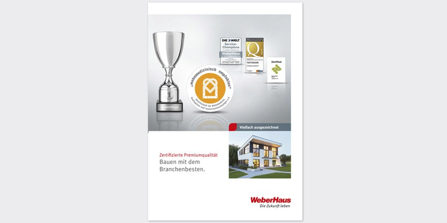 Prospekt Auszeichnungen, Zertifikate, wohnmedizinisch empfohlen