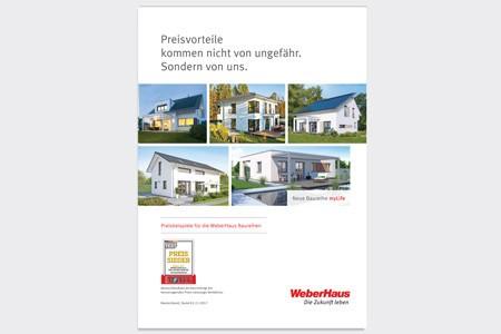 Preisliste WeberHaus Deutschland