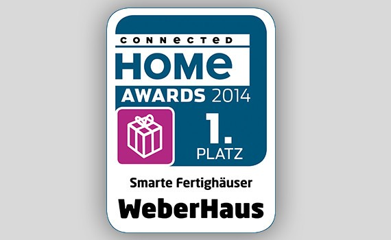 Connected Home Award WeberHaus