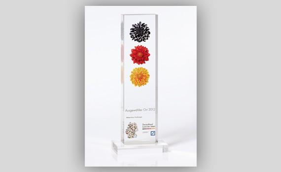 Auszeichnung Ausgewählter Ort WeberHaus