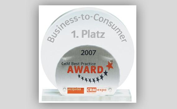 CRM-Award WeberHaus