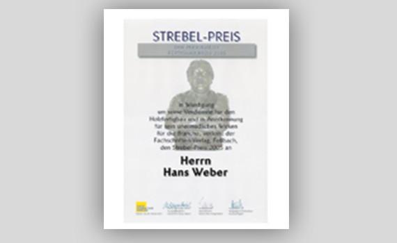 Strebel-Preis WeberHaus