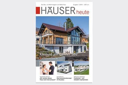 HÄUSERheute Cover 01/2018