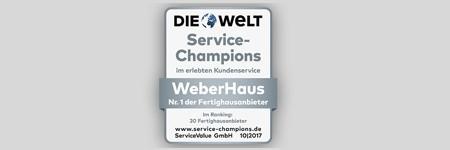 Zertifikat Service-Chamiopn