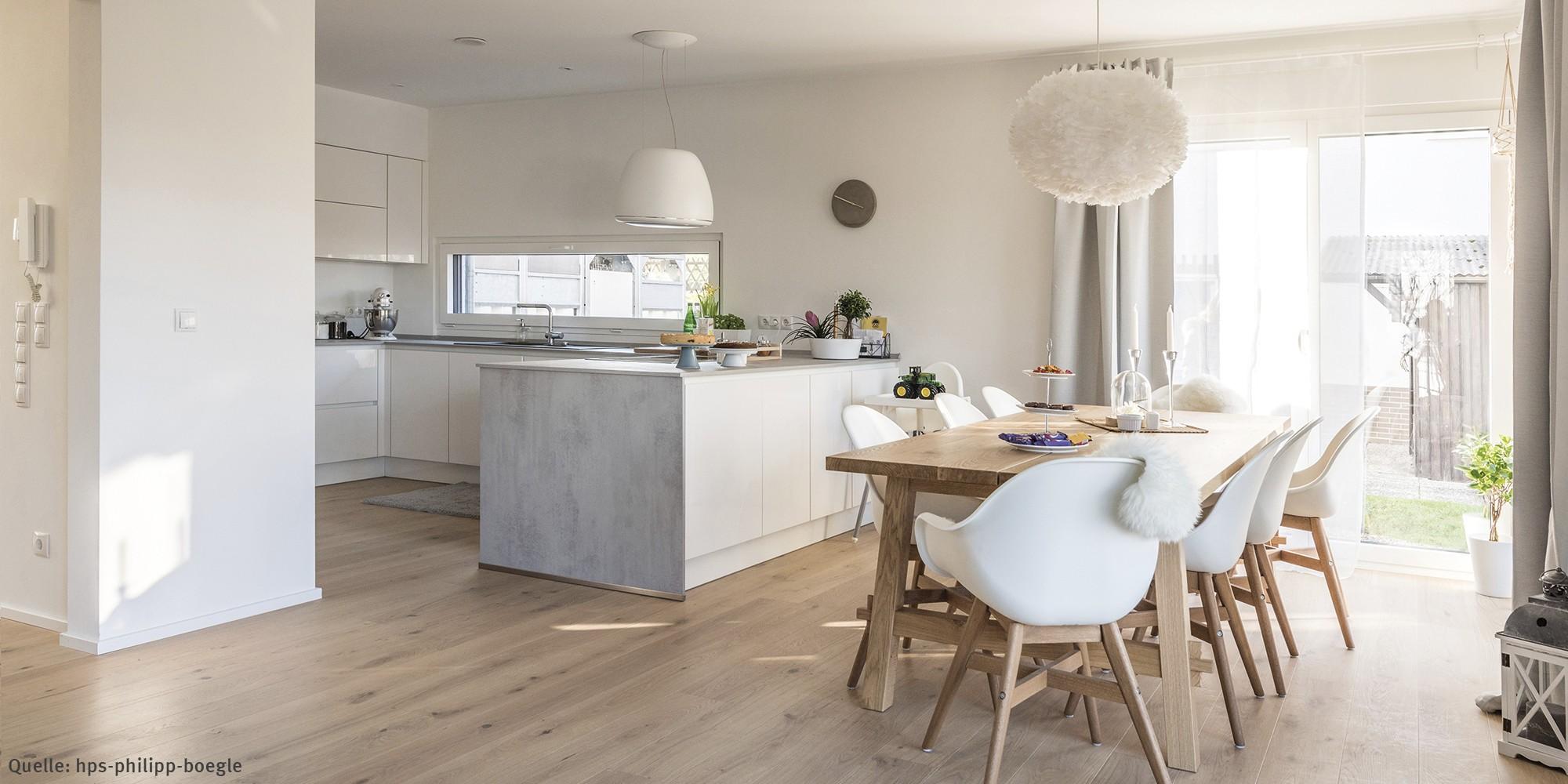Küche und Esszimmer - Kundenhaus WeberHaus
