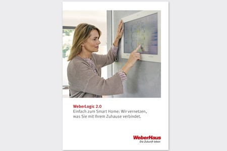 [Translate to Schweiz:] SmartHome WeberLogic2.0 WeberHaus