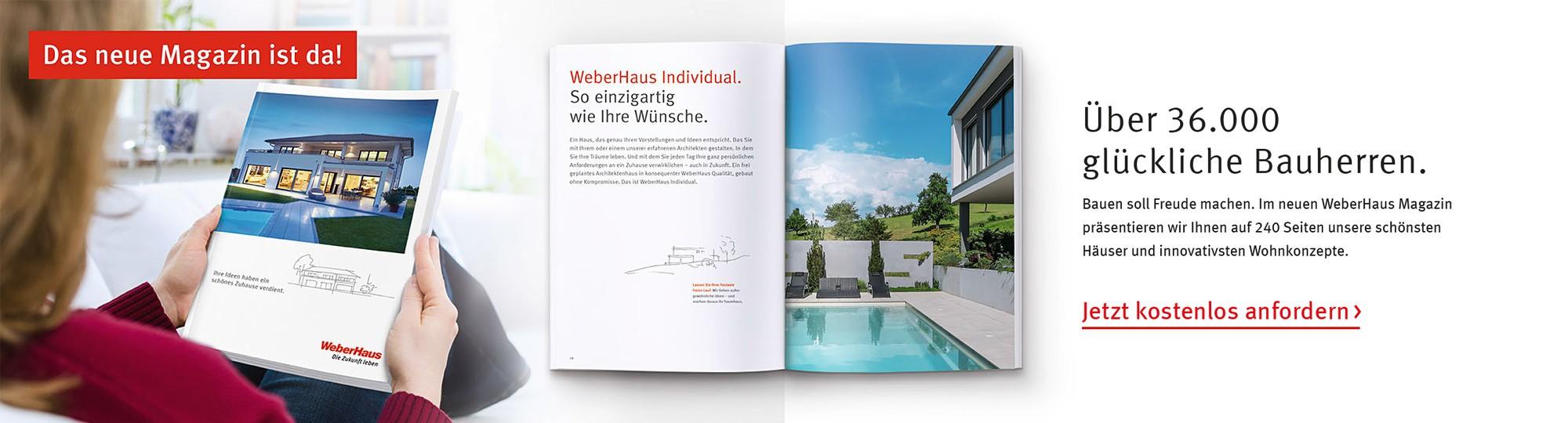 Magazin WeberHaus
