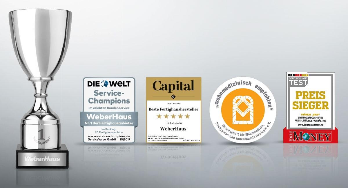 Die Besten Fertighaushersteller fertighaus bauen: weberhaus - höchstnote fertighaus-kompass von capital