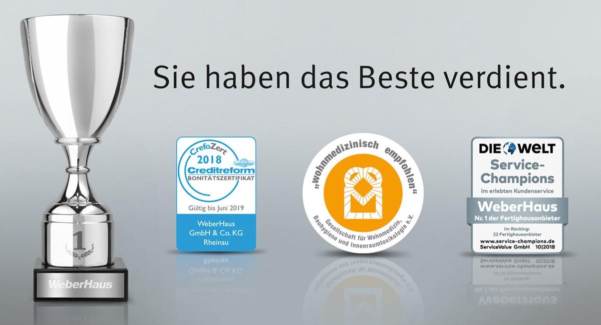 Zertifikate-Auszeichnungen-WeberHaus