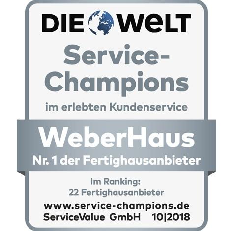 Zertifikat Service-Champion