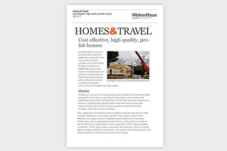 Homes & Travel November 2017