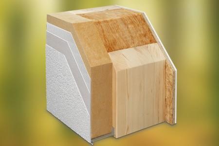 WeberHaus-Wand Gebäudehülle ÖvoNatur Therm