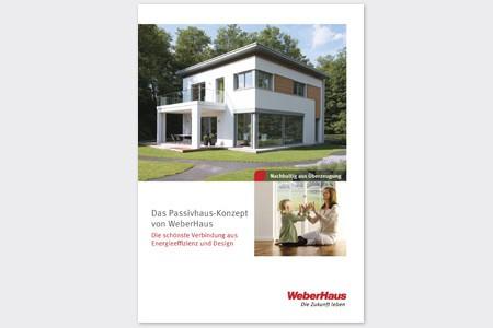 Broschüre Passivhaus WeberHaus