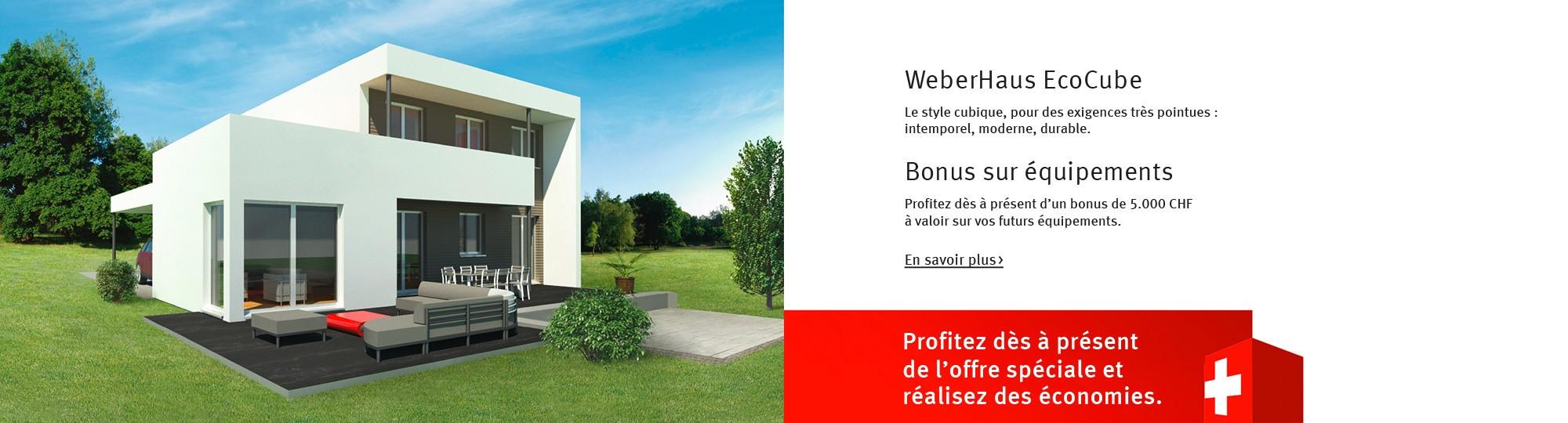 Maison préfabriquée avec WeberHaus - Construisez votre maison de rêve