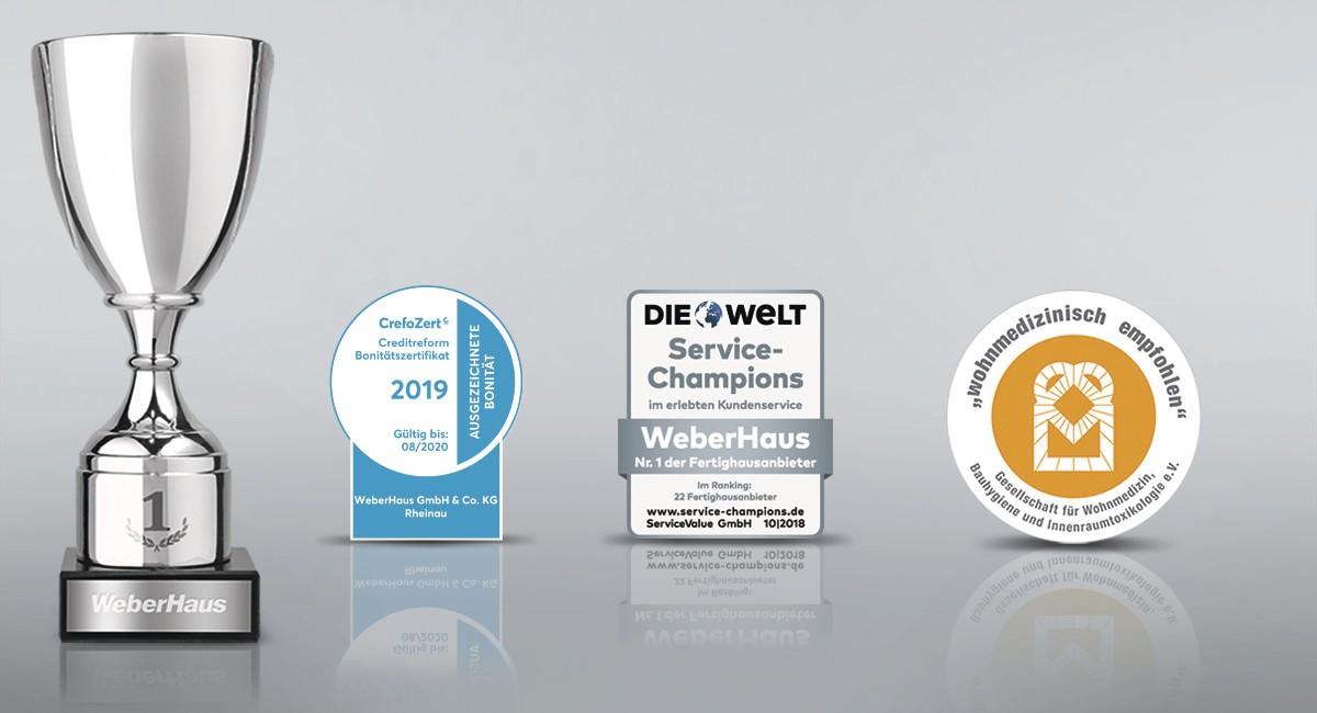 Auszeichnungen WeberHaus