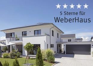 5 Sterne für WeberHaus