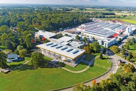 WeberHaus Firmengelände