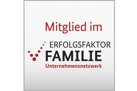 """Mitglied im Unternehmensnetzwerk """"Erfolgsfaktor Famiile"""""""