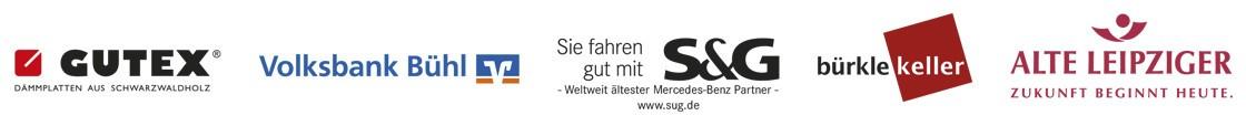 WeberHaus 60 Jahre Sponsoren