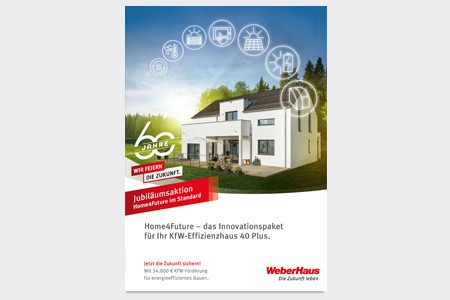 Home4Future Aktion WeberHaus