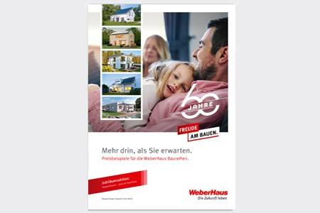 Preisliste WeberHaus Baureihen Deutschland