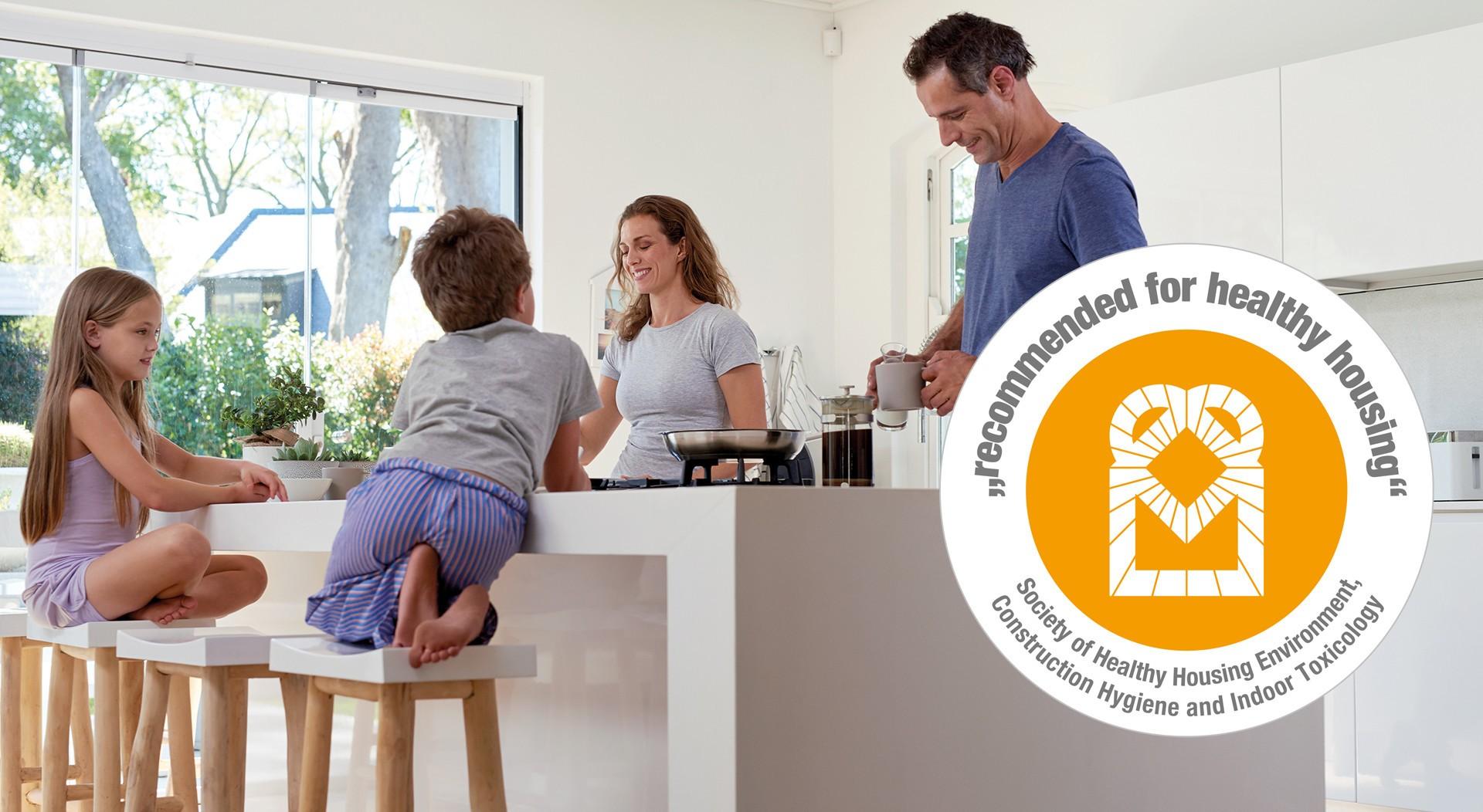 [Translate to Frankreich:] Recommandation pour une maison saine