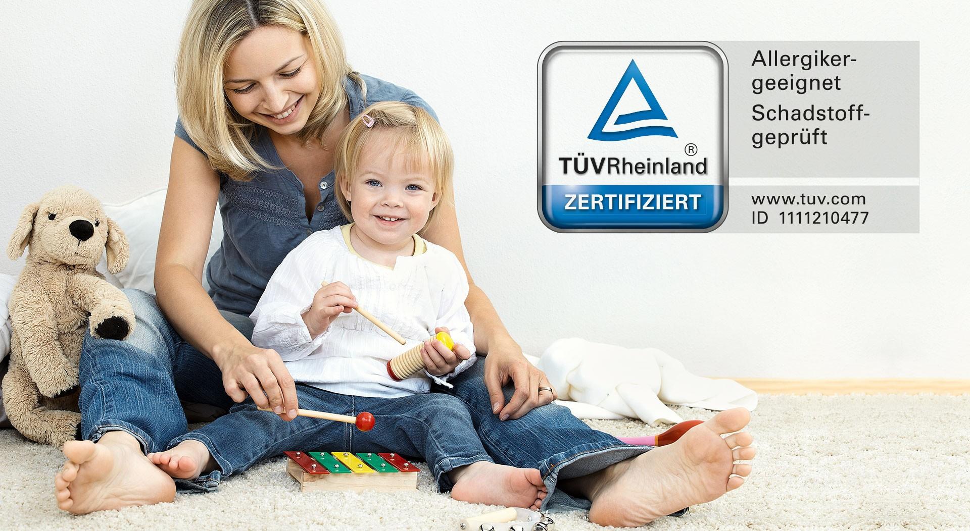 [Translate to Frankreich:] TÜV Rheinland certifié