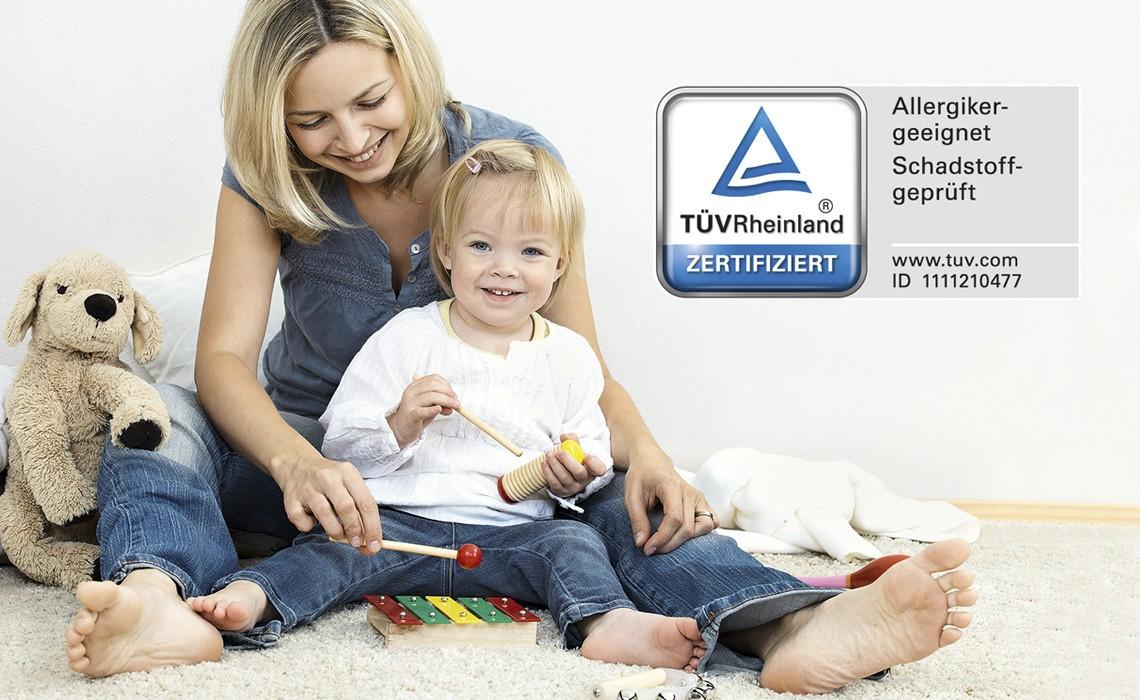 certified by TÜV Rheinland