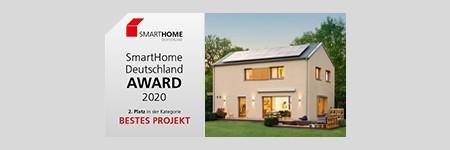 Smart Home Award 2020 - Silber für Musterhaus sunshine