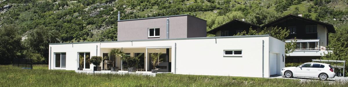 Freigeplante Häuser