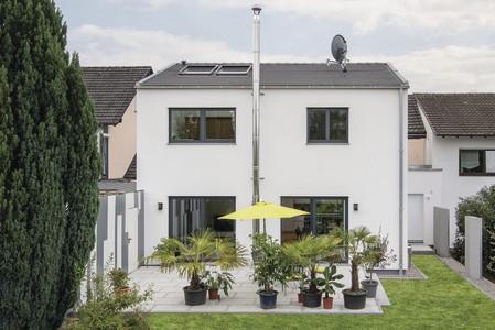 Einfamilienhaus auf kleinem Grundstück