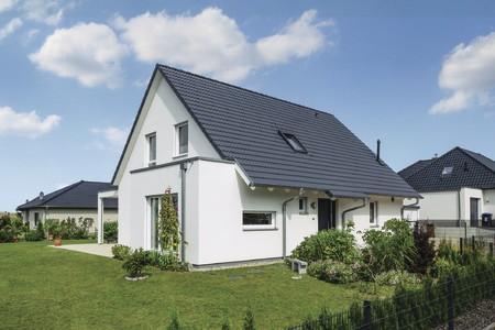 Einfamilienhaus mit Satteldach