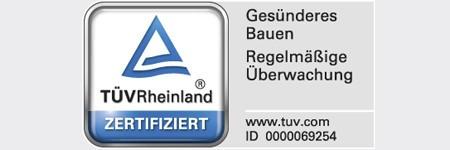 TÜV Rheinland Zertifiziert Gesünderes Bauen