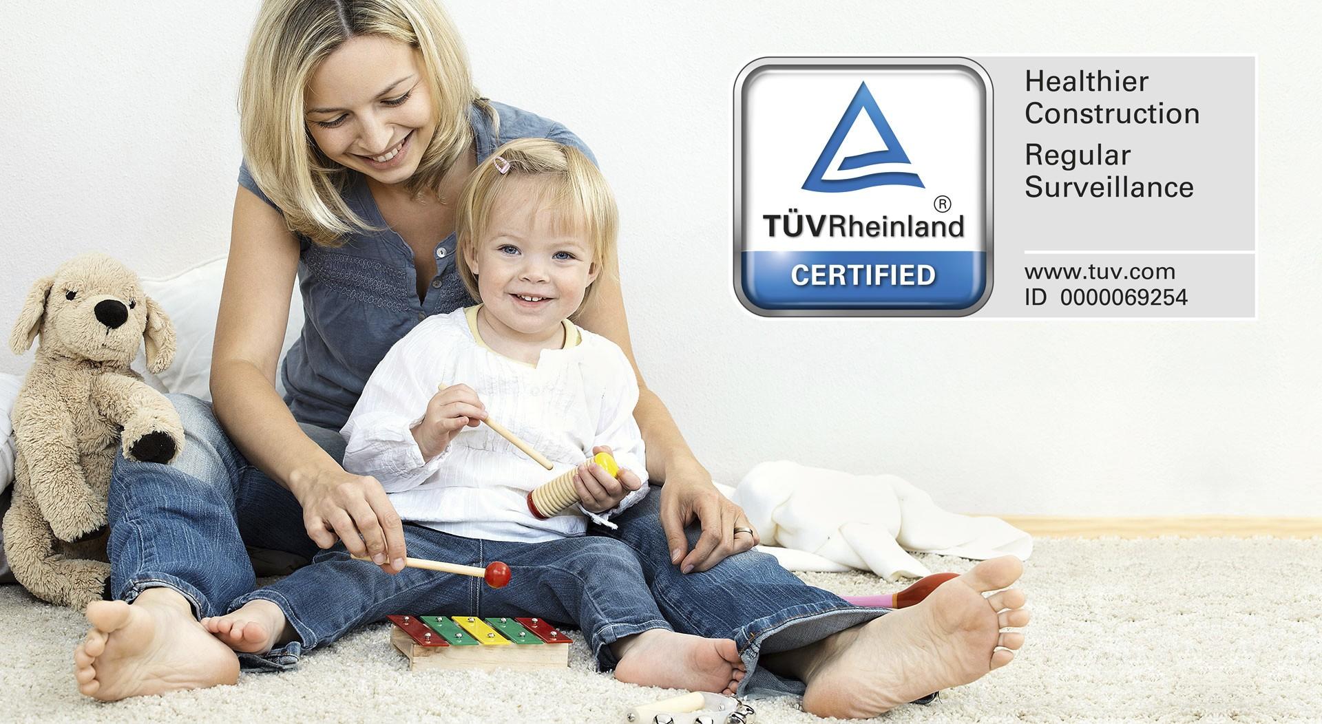 TÜV Rheinland certifié