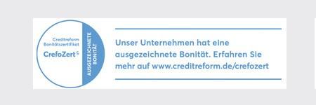 CrefoZert für WeberHaus 2020