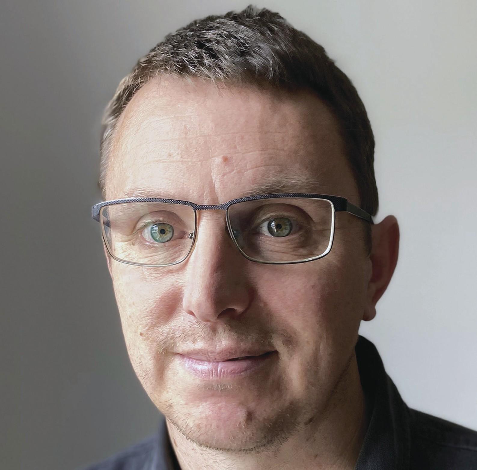 Englischer Architekt Nick Blunt