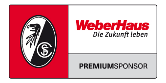 WeberHaus Premiumsponsor beim SC Freiburg