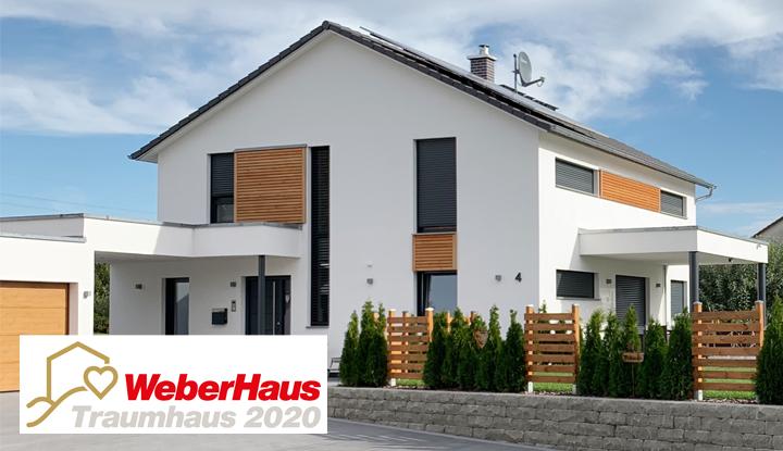 Gewinner-Haus beim WeberHaus Traumhauspreis