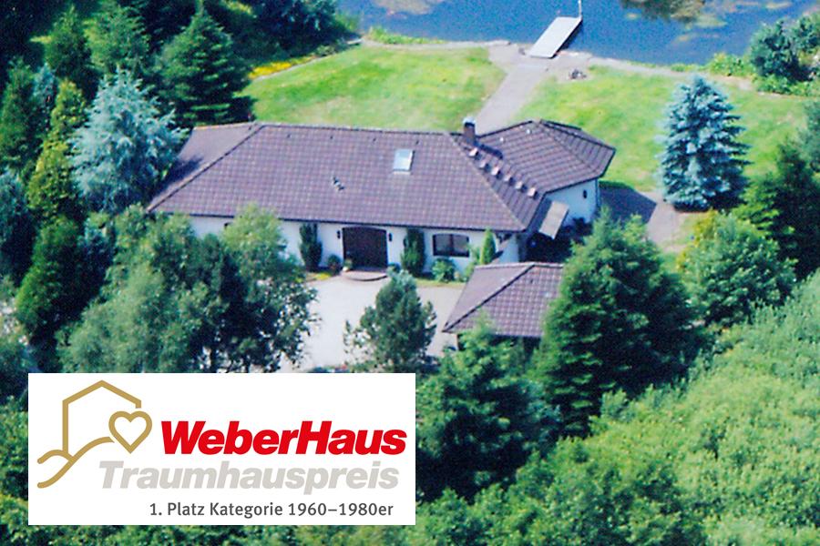 Sieger WeberHaus Traumhauspreis Kategorie 1960-1990er
