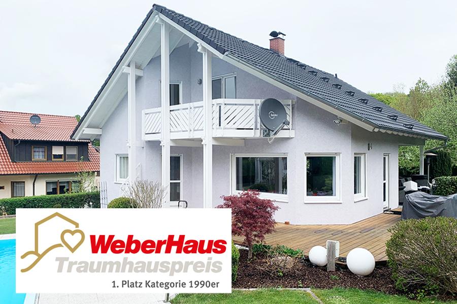 Sieger WeberHaus Traumhauspreis Kategorie 1990er