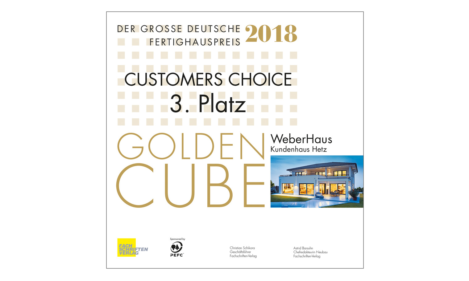 Großer Deutscher Fertighauspreis 2018, Customers Choice