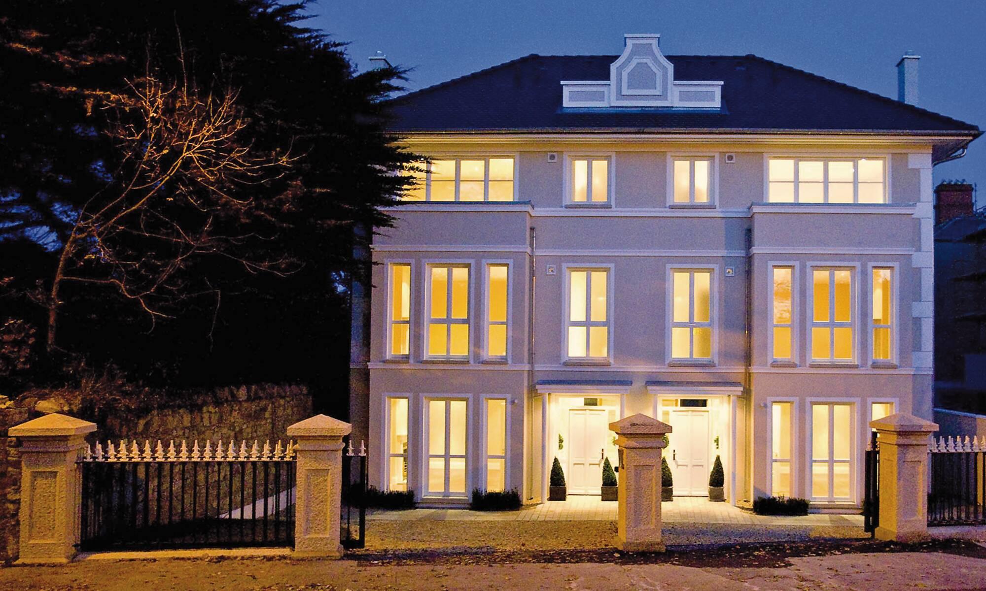 Semi-detached luxury prefab home