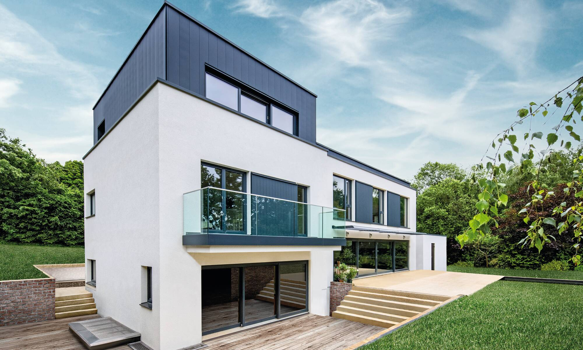 Bespoke, 3-storey prefabricated home