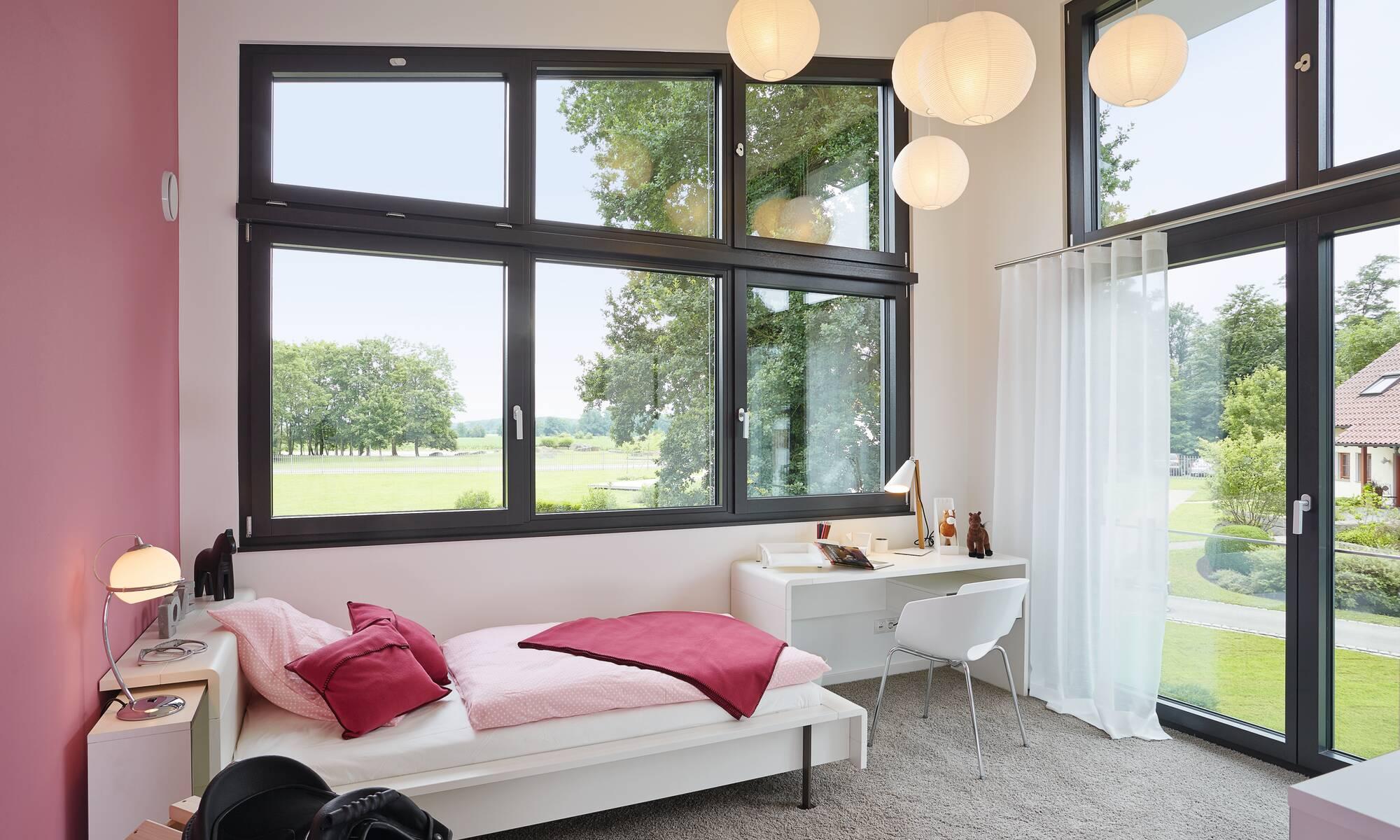 Contemporary urban loft style self-build home