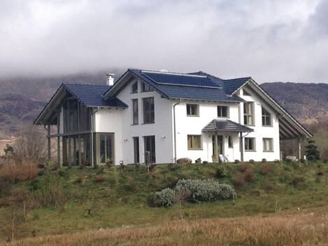 Luxury self-build home in Irish countryside