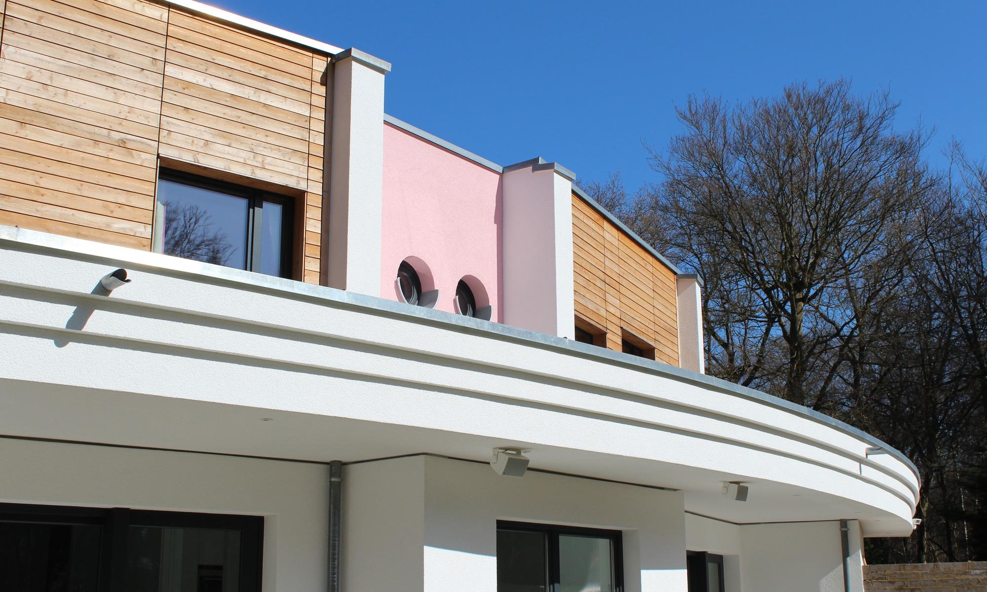 Contemporary eco-friendly home with bespoke design