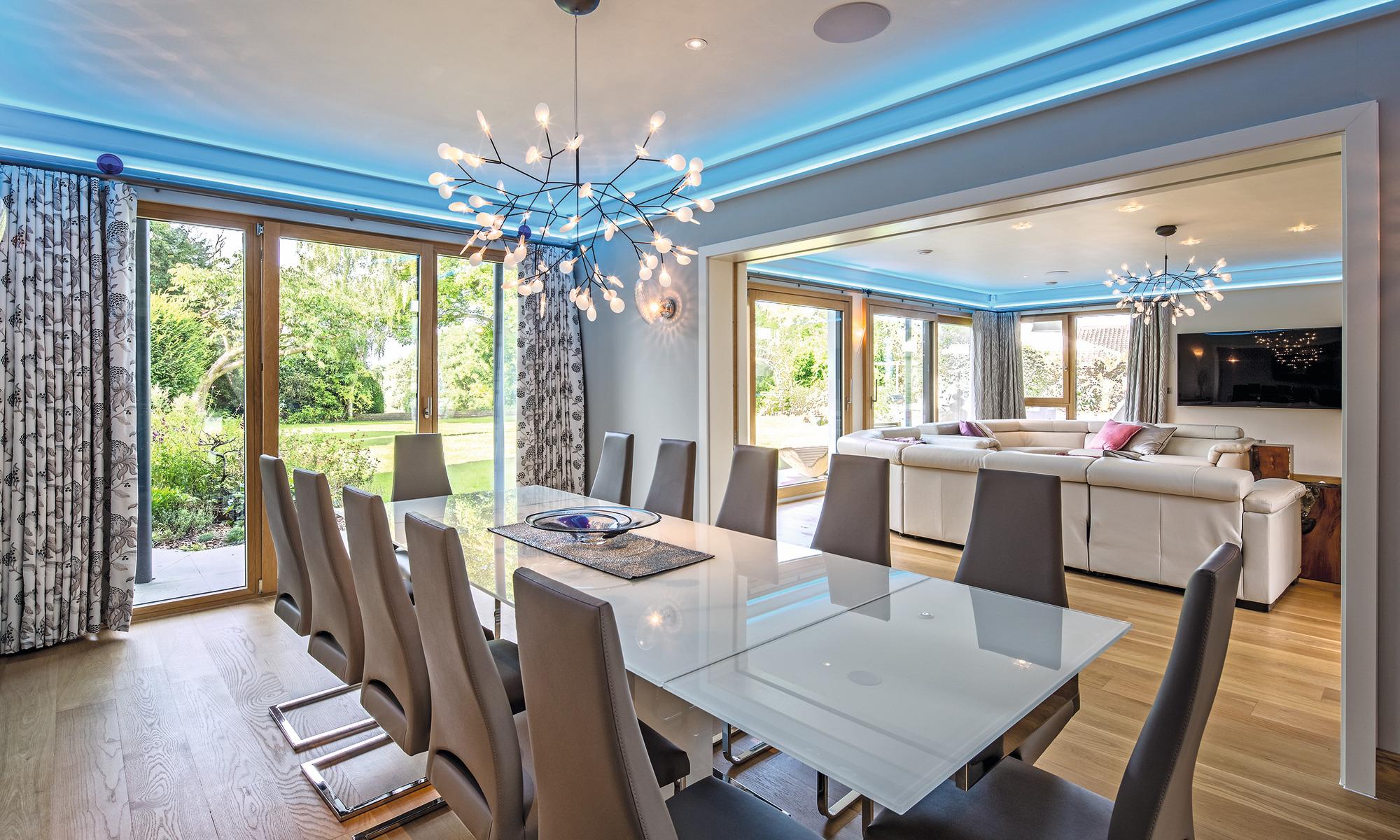 Eco-friendly luxury self-build home