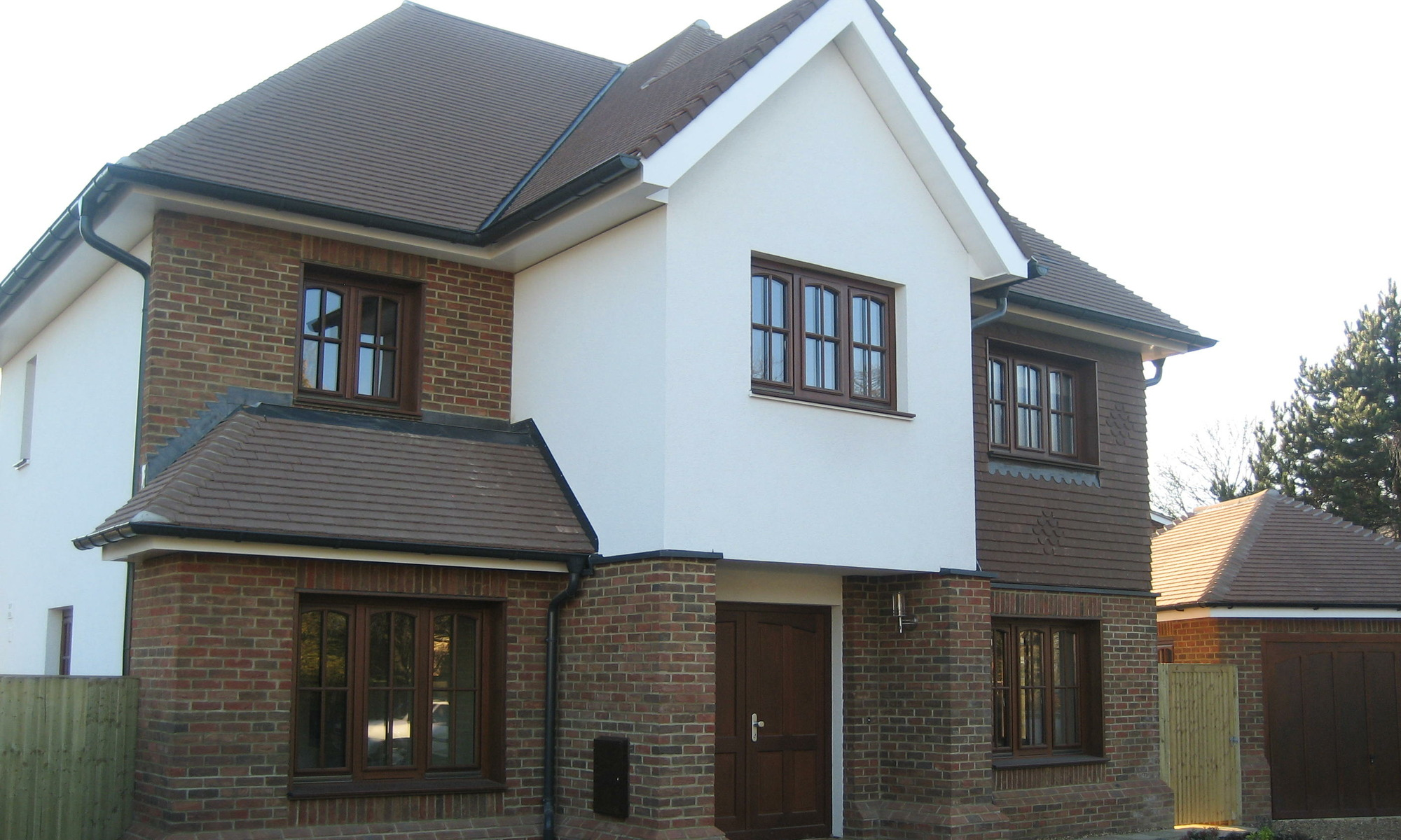 Traditional 4-storey prefabricated home